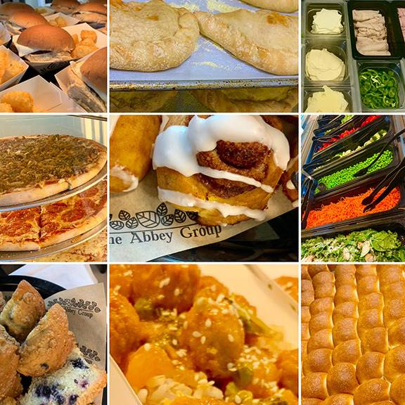 Selection of food photos